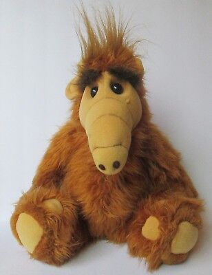 "Vintage 1986 ALF Plush Doll Alien Productions 18"" Coleco Classic TV Show Toy"