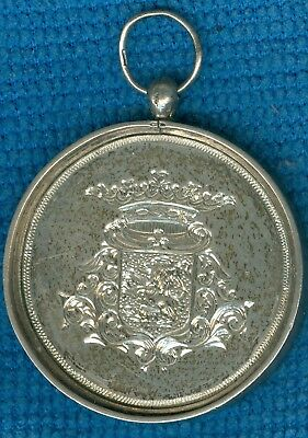 1888 Dutch Silver Award Medal Issued North Holland Provincial Fund