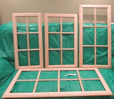 Solid Wood Maple Unfinished Kitchen Cabinet Door Frame For Glass Insert Variety