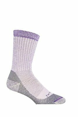 Farm to Feet Women's Jamestown Midweight Crew Socks, Parachute Purple, M...