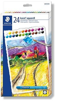 Staedtler Karat Aquarell Watercolour Crayons 24 Pack