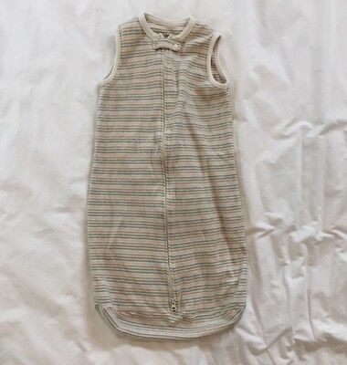 Organic Cotton Unisex Baby Sleepsack Size 6-9M All Natural Beige