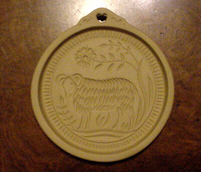 Brown Bag Cookie Mold 1991 Suffolk Sheep American Folk Art Series No.4 ~ Retired