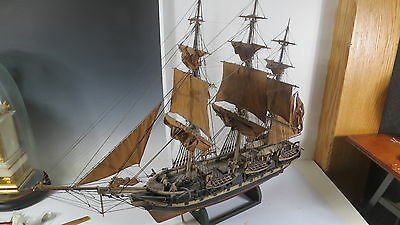 Antique Boat Model  Whaling ship Quality workmanship