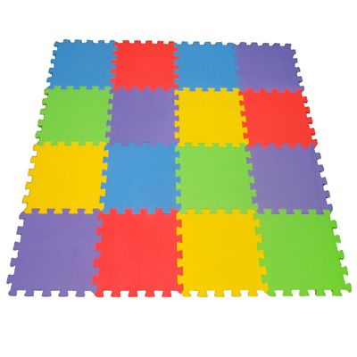 16 Piece X-Large Foam Soft Tile Mat ideal Gift Toy Child & Baby Room Safe Playma
