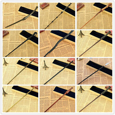 Harry Potter Characters Cast Metal core Magical Magic Wand Cosplay Halloween