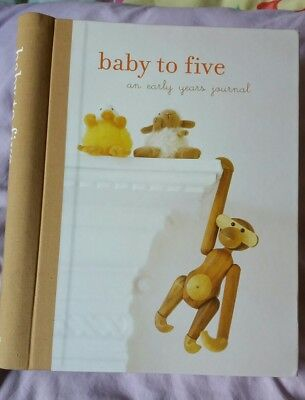 NEW Baby to five, an early years journal + free peek a boo rainbow book