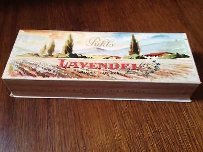 Puhl's Lavendel antique lavender box ,Western Germany