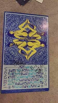 Creedence Clearwater Reviv  Fogerty Family Dog # 121 Autographed Concert Poster