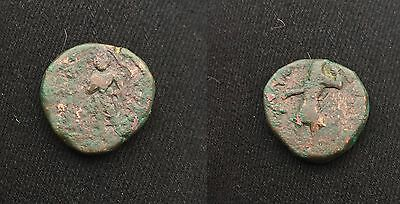 Indian Kushan Empire Buddha Kanishka 1, Circa AD 127/8-152, Tetradracm, 17 gm