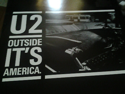 U2 - Outside It's America - Interview Picture Disc