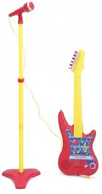 BONTEMPI Electronic Guitar with Stand Microphone. Free Shipping