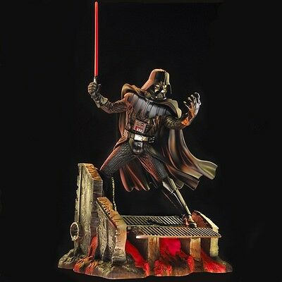 """Star Wars Darth Vader 17""""  Statue Cold Cast Resin Figure Collector"""