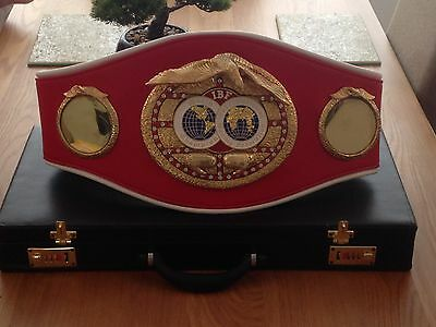Ibf Championship Boxing Belt Custom Made