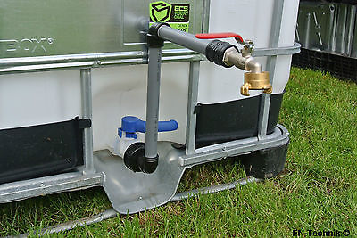 Swan Neck DN 50 IBC Adapter Container Rain Water Barrel Tank Geka