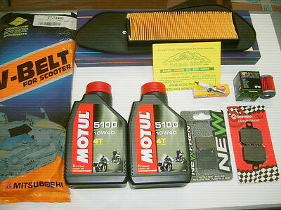 Replacement Kit Motul Complete Yamaha X-Max 125 From 2010 On