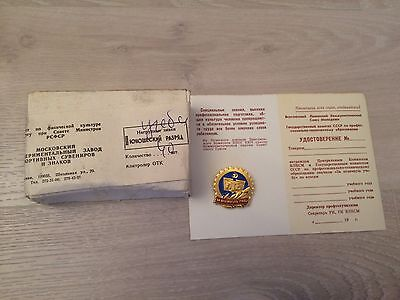 CCCP USSR 40 pins badges with box
