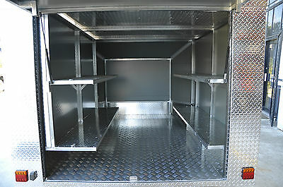 GO-KART ALUMINUM  TRAILER 2060mm /WIDE x 2.7m/LONG + NEW ALLOY WHEELS & TYRES