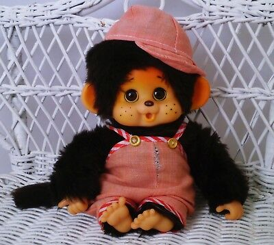 "Adorable Japanese Monchhichi Monchichi Toho 18cm - 7,1"" - Toho label"