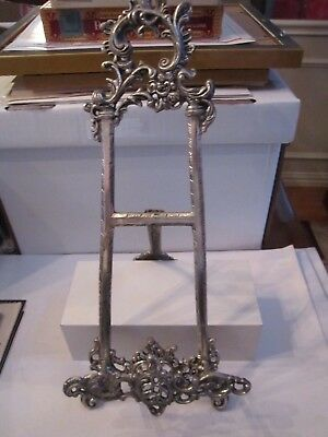 """Very Large Book Stand Or Decorative Plate Stand - 18"""" Tall - Fits 1 3/4"""" W Book"""