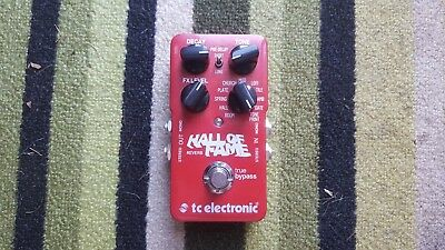 TC Electronic Hall of Fame Reverb Pedal Effects. Mint. Boxed.