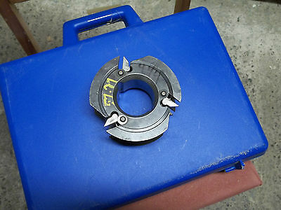 shaper cutter  molder head   insert carbide  2 1/4 bore
