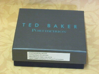 New & Sealed Set of 6 Portmeirion Ted Baker Langdon  Drinks Mats / Coasters