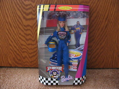 Barbie Nascar 50Th Anniversary Collector Edition 1998 Mattel New