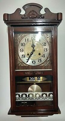 Reloj De Pared Antiguo/vintage De Cuerda