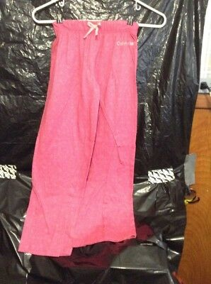 Youth Lounging Pants Color Pink Size Large 10/12 Calvin Klein