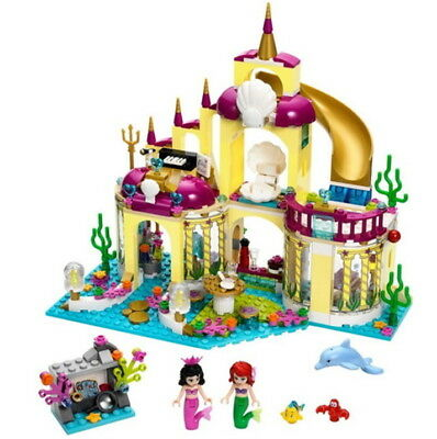 383PCS 10436 Princess Ariel's Undersea Palace sets Building Toys