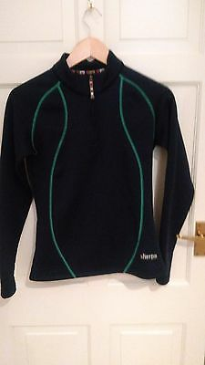Sherpa Powerstretch Pro Jumper (Women's, Small, Navy Blue/Turquoise)