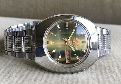 ORIENT Automatic Day/Date Herrenuhr 38 mm Japan ca. 1978