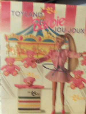 Mattel Hudson's Bay Canadian Exclusive Toyland Jou Joux Barbie New NRFB