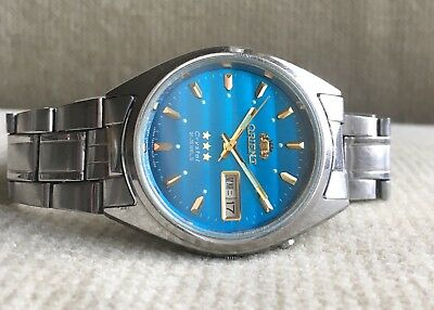 ORIENT Crystal - 469WA3 CA - Automatic Day/Date Herrenuhr 37 mm Japan ca. 1978