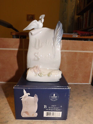 "Lladro 7677. Lladro Society. ""Art Brings Us Together"". Boxed."
