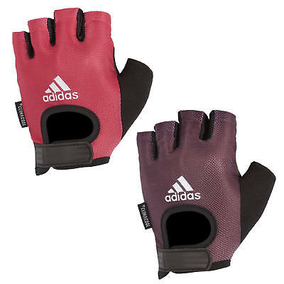 Adidas Womens Performance Weight Lifting Gloves Gym Exercise Workout Ladies