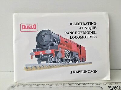 Hornby Dublo - J Rawlingson Illustrating A Unique Range Of Model Locos 30 Cards