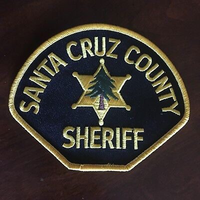Santa Cruz County Sheriff Patch California