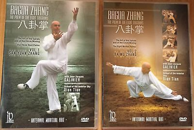 Ba Gua Zhang - Palm of the Eight Trigrams by Jean-Jacques Galinier (Vols 1 & 2)