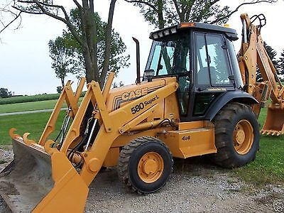 Case 580 Super L Digger Backhoe Loader Operators Manual