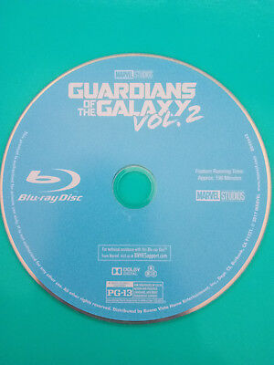 Guardians of the Galaxy 2 Blu-Ray. Used. Free Shipping!