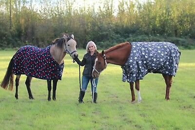 Horse Rugs JHI Turnout Horse Rug 200G 5-3 To 6-6 Sizes