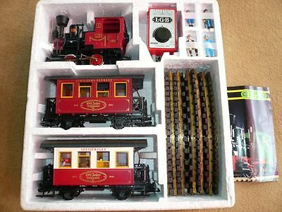 Lgb 100 Year Lehmann Set With All Cars & More!