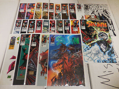 Spawn comic book lot of 25:  1-25