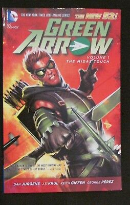 Green Arrow Volume 1 The Midas Touch DC New 52  Dan Jurgens JT Krul