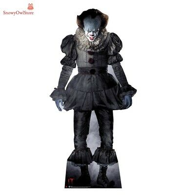 Cardboard Standup Pennywise Figure Poster IT Placard Affiche for Halloween