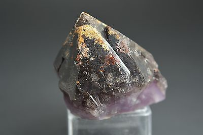 "Auralite 23 ""Volcanic Ash"" Black Tip Crystal Point! RARE! A+++ CANADA"