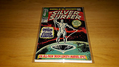 Silver Surfer #1 - Marvel Comics - August 1968 - 1st Print - Origin