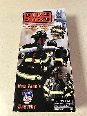 Fire Zone FDNY Firefighter Action Figure New York Real Heroes Collectible